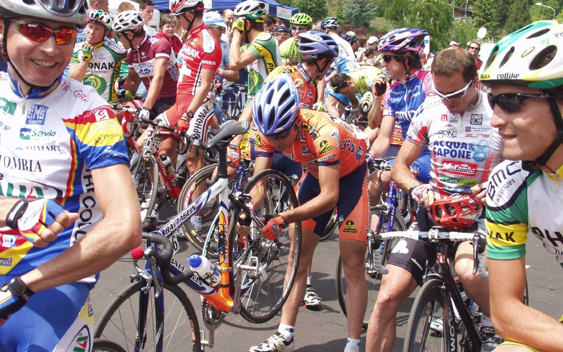 87° Giro d'Italia - Città di tappa 2004
