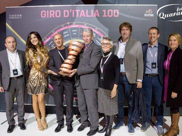 Presentazione Giro d'Italia 2017